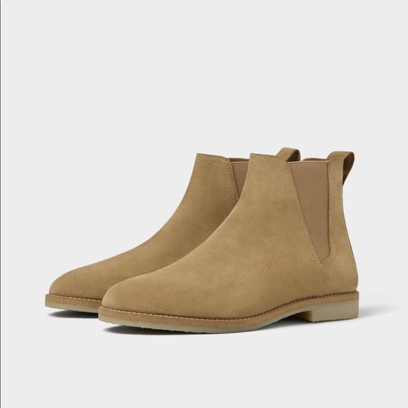 top-rated quality search for latest search for newest Zara men's size 8 41 eur tan leather Chelsea boots